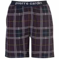 Pierre Cardin Yarn Dye Check Lounge Short Mens Burg Check Мъжки пижами