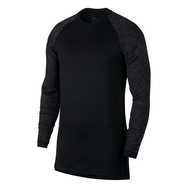 0ba7213266d Nike Мъжко Горнище Дълъг Ръкав Pro Utility Long Sleeve Top Mens Black Мъжки  долни дрехи