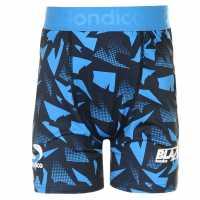 Sondico Детски Къси Панталони Първи Слой Blaze Baselayer Shorts Junior Boys Navy/Blue Детски основен слой дрехи