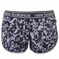 New Balance Balance Paccel Shorts Navy/Blk/Whte Дамски клинове за фитнес