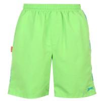 Slazenger Тъкани Мъжки Шорти Woven Shorts Mens Green Мъжки къси панталони