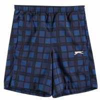 Slazenger Junior Boys Graph Shorts Royal Детски къси панталони