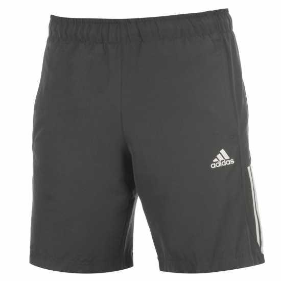 769798ff943 Adidas Мъжки Шорти 3 Stripe Chelsea Shorts Mens DarkOnix/White Мъжки къси  панталони