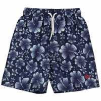 Hot Tuna Момчешки Къси Гащи Printed Shorts Junior Boys Navy Детски къси панталони