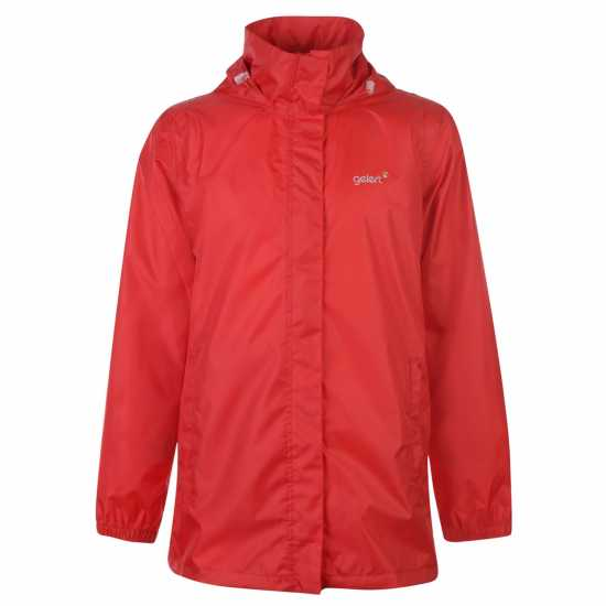 Gelert Непромокаемо Яке Packaway Mens Waterproof Jacket Red Мъжки якета и палта