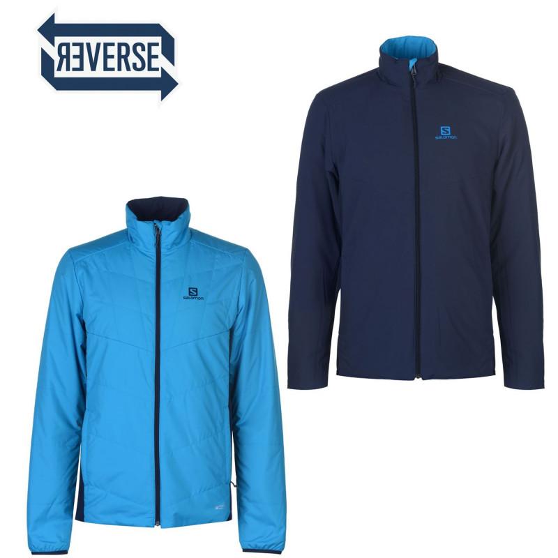 753564643eb Salomon Мъжко Яке Drifter Reversible Jacket Mens Hawaiian/Sky Мъжки якета и  палта