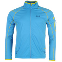 Jack Wolfskin Мъжко Яке Полар Stormlight Fleece Jacket Mens Blue Мъжки якета и палта