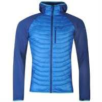 Dynafit Мъжко Яке Hybrid Mens Jacket Blue Мъжки якета и палта