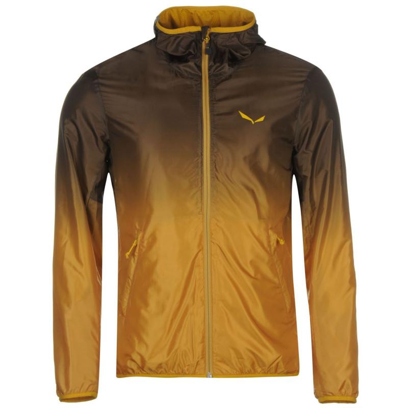 19d23ba15a1 Salewa Мъжко Яке Frea Windbreaker Jacket Mens Black/Yellow Мъжки якета и  палта