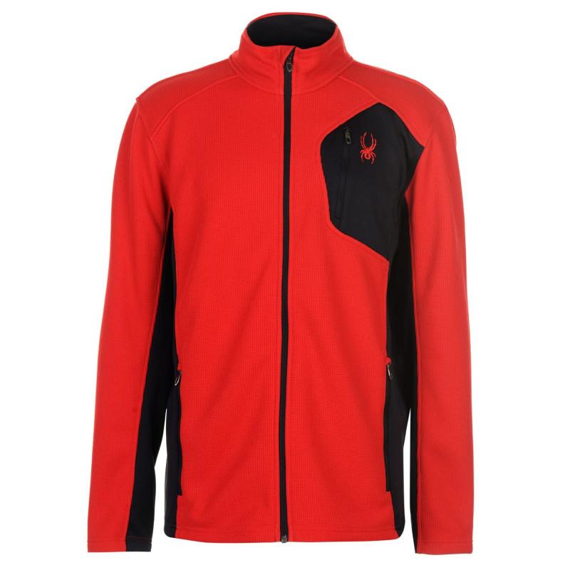 b42eb1b1e80 Spyder Леко Мъжко Яке Bandit Lightweight Jacket Mens Red Black Мъжки якета  и палта