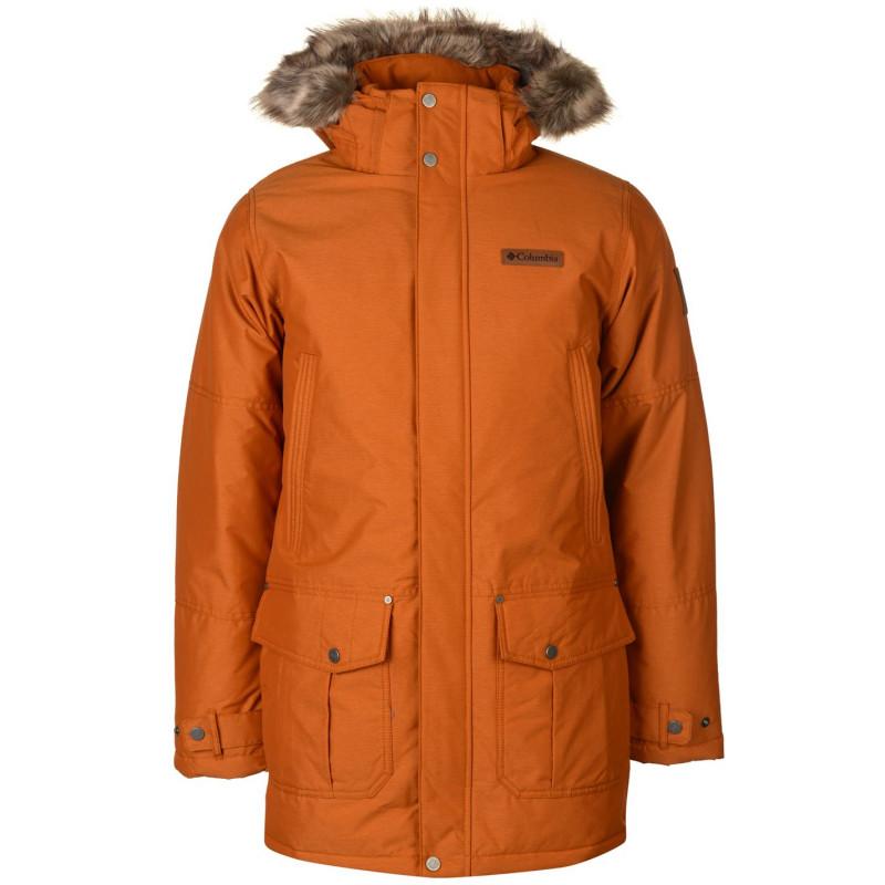 3df4c3f8b1c Columbia Мъжко Яке Парка Timber Parka Jacket Mens Orange Мъжки якета и палта