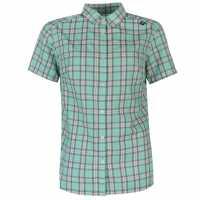 Odlo Mythen Walking Shirt Ladies Green Дамски ризи и тениски