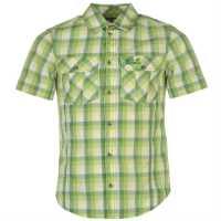 Jack Wolfskin Мъжка Риза Faro Shirt Mens ivy green check Мъжки ризи