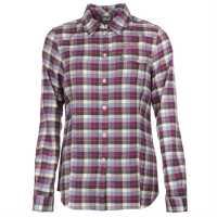 Jack Wolfskin Edmont Ladies Shirt Violet/Lt Blue Дамски ризи и тениски