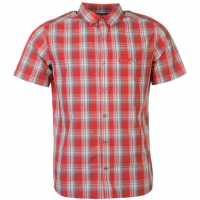 Jack Wolfskin Мъжка Риза Fairford Shirt Mens Red Мъжки ризи