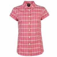 Jack Wolfskin River Shirt Ladies Pink Мъжки тениски и фланелки