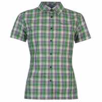 Salewa Renon Outdoor Shirt Ladies White/Green Дамски ризи и тениски