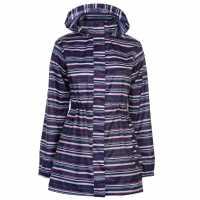 Gelert Дамска Парка Packaway Parka Ladies Navy Stripe AOP Дамски якета и палта