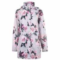 Gelert Дамска Парка Packaway Parka Ladies Floral AOP Дамски якета и палта