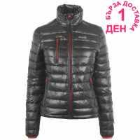Iflow Дамско Яке Superlight Jacket Ladies Grey/Red Дамски якета и палта