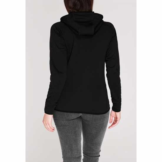 Karrimor Grid Full Zip Hoodie Ladies Black Дамски полар