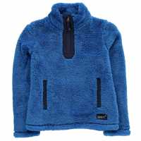 Gelert Полар Момичета Yukon Micro Fleece Junior Girls Blue Детски полар