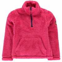 Gelert Полар Момичета Yukon Fleece Junior Girls Raspberry Детски полар