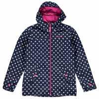 Gelert Детско Яке Coast Jacket Junior Navy Pokka Dot Детски якета и палта
