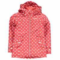 Gelert Яке За Невръстни Деца Coast Jacket Infants Rose Pokka Dot Детски якета и палта