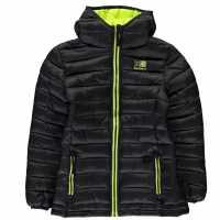 Karrimor Детско Яке С Подплата Hot Crag Insulated Jacket Junior Black Детски якета и палта