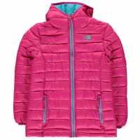 Karrimor Детско Яке С Подплата Hot Crag Insulated Jacket Junior Pink Детски якета и палта