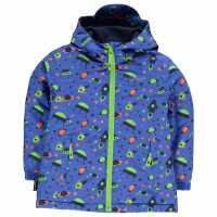 Gelert Изолиращо Яке Printed Insulated Jacket Unisex Infant Spaceships Детски якета и палта