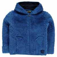 Gelert Yukon Hood Fleece Unisex Infant Gelert Blue Детски полар