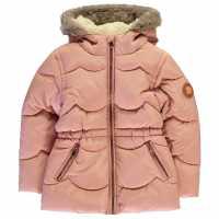 Gelert Палто Парка Storm Parka Coat Infant Girls Misty Rose Детски якета и палта