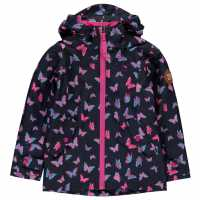 Gelert Непромокаемо Детско Яке Coast Waterproof Jacket Infants Butterfly Детски якета и палта