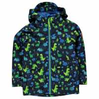 Gelert Непромокаемо Детско Яке Coast Waterproof Jacket Infants Dinosaur Детски якета и палта