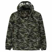 Gelert Непромокаемо Яке Packaway Junior Waterproof Jacket Green Camo Детски якета и палта