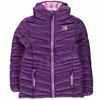 Karrimor Детско Яке С Подплата Hot Crag Insulated Jacket Juniors Grape Детски якета и палта