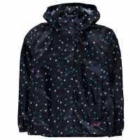 Gelert Яке Момичета Packaway Jacket Junior Girls Multi Polka Dot Детски якета и палта