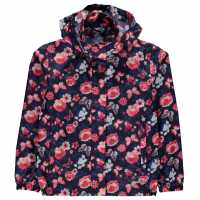 Gelert Непромокаемо Яке Packaway Junior Girls Waterproof Jacket Floral AOP Детски якета и палта