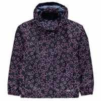 Gelert Непромокаемо Яке Packaway Junior Girls Waterproof Jacket Star AOP Детски якета и палта