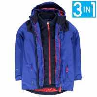 Karrimor Детско Яке 3В1 3In1 Jacket Kids Sapphire/Navy Детски якета и палта