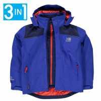 Karrimor Детско Яке 3В1 3In1 Jacket Kids Blue Детски якета и палта