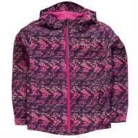 Columbia Детско Яке Splash Jacket Juniors Fuchsia Детски якета и палта