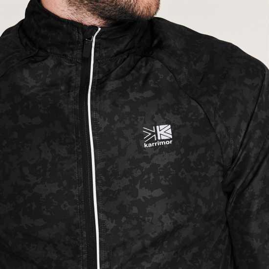 Karrimor Мъжко Яке Xlite Convertible Jacket Mens Black/Cammo Мъжки якета и палта