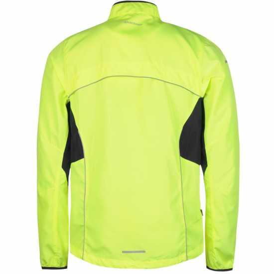 Karrimor Мъжко Яке За Бягане Running Jacket Mens Fluo Yellow Мъжки якета и палта