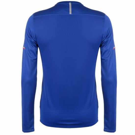 New Balance Мъжка Блуза Ice Long Sleeve T Shirt Mens Royal Мъжки тениски и фланелки