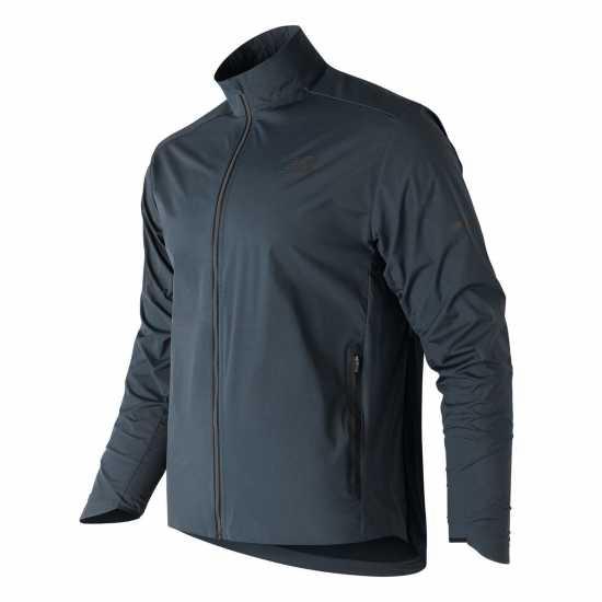 8e4f5929015 New Balance Мъжко Яке Precision Jacket Mens Galaxy Blue Мъжки якета и палта