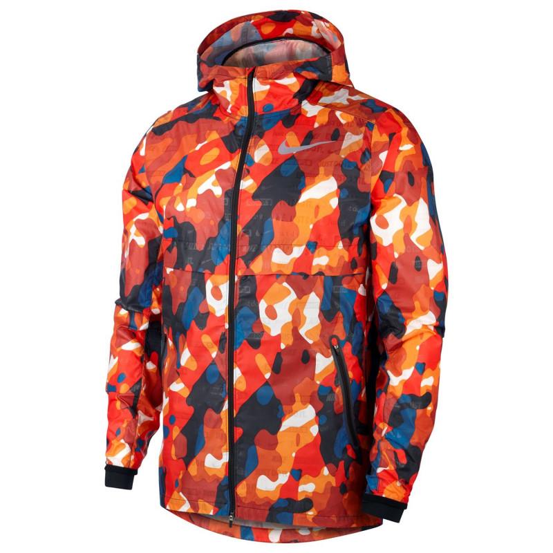 66d1ec913d9 Nike Мъжко Яке За Бягане Shield Ghost Flash Running Jacket Mens Red/Black Мъжки  якета