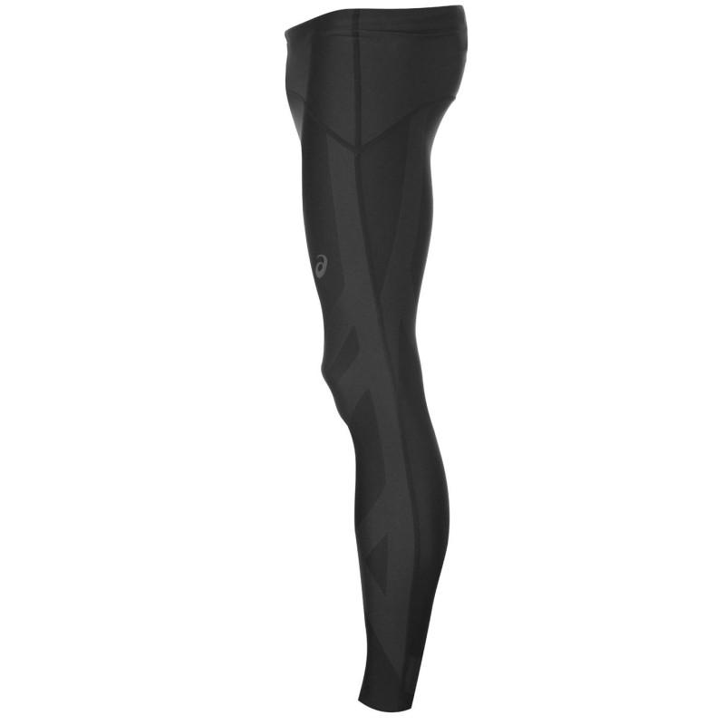 57a11f1d812 Asics Мъжки Клин Finish Advantage Tights Mens Black/Red Мъжки дрехи за  бягане
